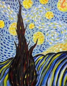 Starry Night Tree