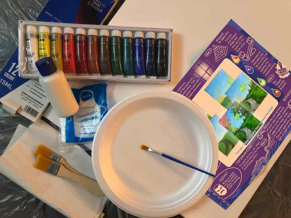 pAINT Party Blank kit